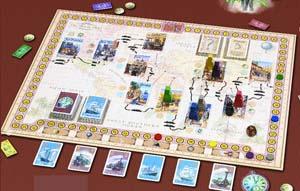 Around the World in 80 Days by Rio Grande Games