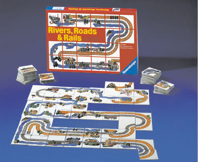 Rivers, Roads & Rails by Ravensburger