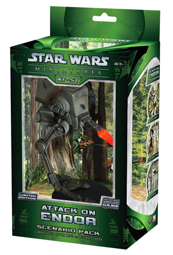 Star Wars CMG: Attack on Endor Scenario Pack by TSR Inc.