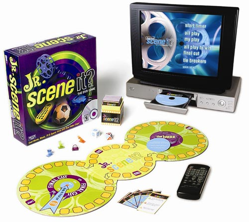 Scene it? Jr. Edition ( Junior Edition ) by Screen Life