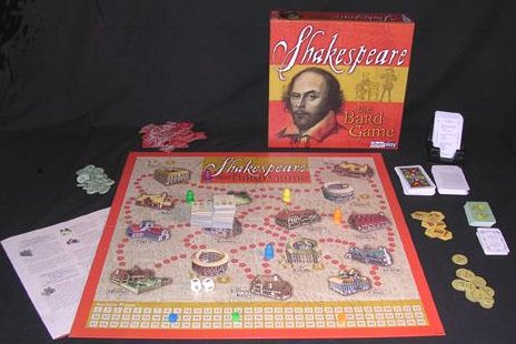Shakespeare - The Bard Game by Fred Distribution / Uberplay