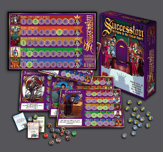 Succession: Intrigue In The Royal Court by Your Move Games, Inc.