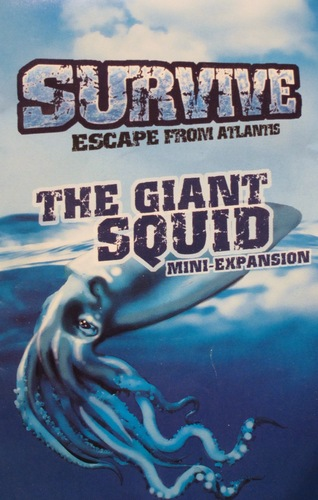 Survive: Escape From Atlantis - The Giant Squid Expansion by Stronghold Games