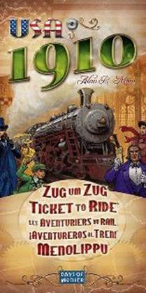 Ticket to Ride - USA 1910 Expansion (2008 printing) by Days of Wonder