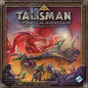 Talisman Revised 4th Edition (Fantasy Flight Games Version) by Fantasy Flight Games