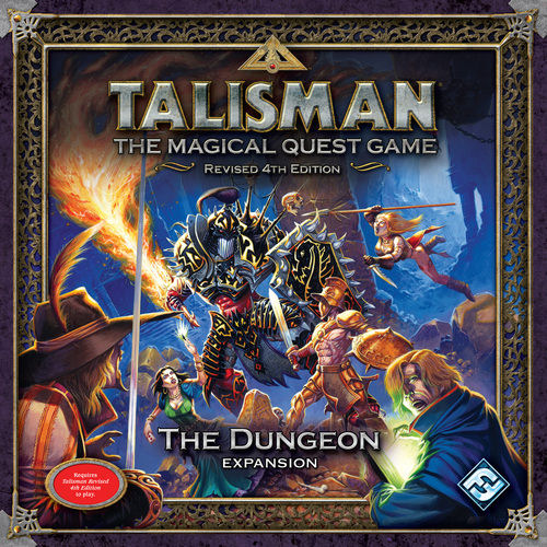 Talisman Revised 4th Edition: The Dungeon Expansion by Fantasy Flight Games