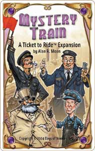 Ticket to Ride - Mystery Train Expansion by Days of Wonder