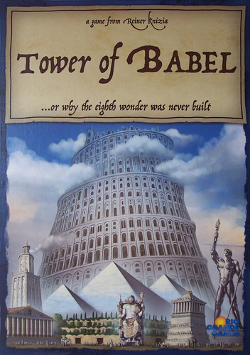Tower of Babel (Der Turmbau zu Babel) by Rio Grande Games