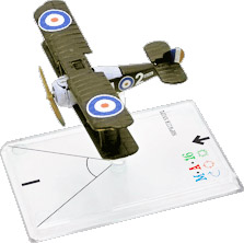 Wings Of War miniatures : Sopwith Snipe (Baker) by Fantasy Flight Games