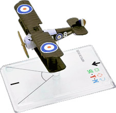 Wings Of War miniatures : Sopwith Snipe (Ryrie) by Fantasy Flight Games
