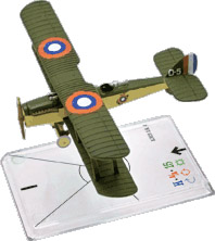 Wings Of War miniatures : Airco D.H. 4 (American Expeditionary Force) by Fantasy Flight Games