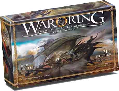 Lord Of The Rings: War Of The Ring by Fantasy Flight