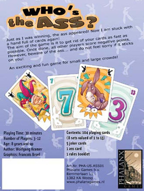 Who's The Ass? by Phalanx Games