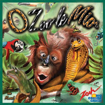 ZooSim - English Edition (O Zoo le Mio) by Rio Grande Games