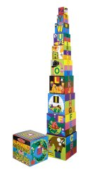 10-Piece Alphabet Nesting and Stacking Blocks by Melissa and Doug