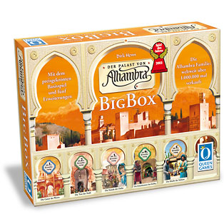 Alhambra Big Box by Rio Grande Games