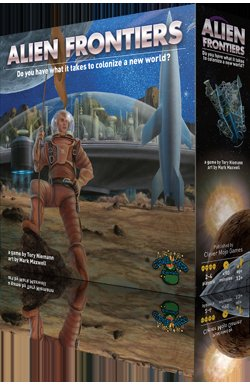 Alien Frontiers (2nd Printing) by Cleve Mojo Games