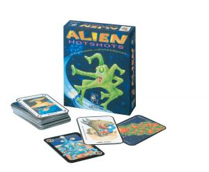Alien Hot Shots by Gamewright