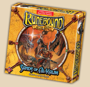 Runebound Exp Sands Of Al-kalim by Fantasy Flight Games