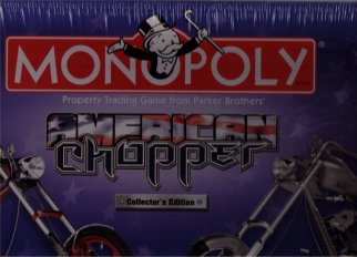American Chopper Monopoly by USAOpoly