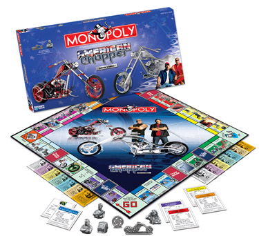 American Choppers Monopoly Board Game by USAopoly