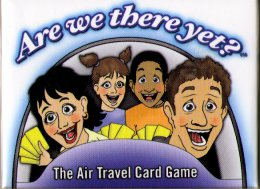 Are We There Yet?  The Air Travel Card Game by Family Games America