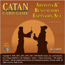 Catan Card Game: Artisans & Benefactors Expansion by Mayfair Games