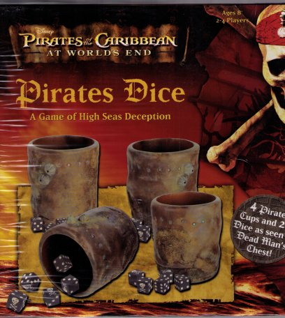 Pirates of the Caribbean Dice Game (At World'd End) by Friendly Games / Disney