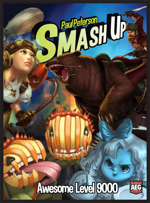 Smash Up: Awesome Level 9000 by ALDERAC ENTERTAINMENT GROUP