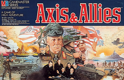 Axis and Allies by Avalon Hill