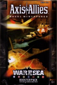 Axis & Allies Naval CMG War at Sea Booster by Wizards of the Coast