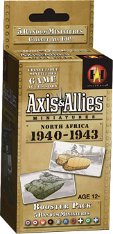 Axis & Allies CMG: North Africa 1940-1943 Booster by Wizards of the Coast