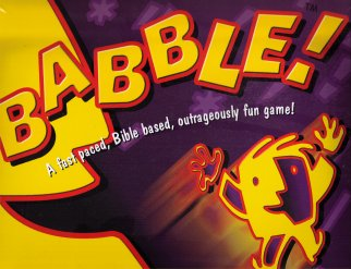 Babble Board Game by Cactus Game Design