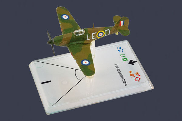 Wings of War: Hawker Hurricane Mk I - Bader by Fantasy Flight Games