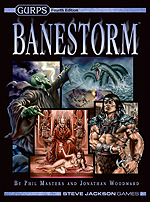 Gurps 4th Edition: Banestorm Hardcover by Steve Jackson Games
