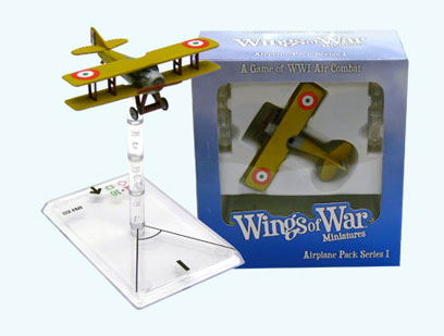 Wings Of War miniatures : Spad XIII Francesco Baracca (Italy) by Fantasy Flight Games