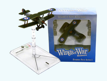 Wings Of War miniatures : Sopwith Camel William Barker (United Kingdom) by Fantasy Flight Games
