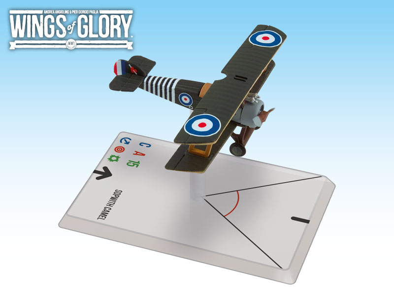 Wings of Glory: WWI: Sopwith Camel (Barker) by Ares Games