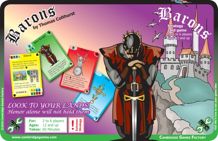 Barons by Cambridge Games
