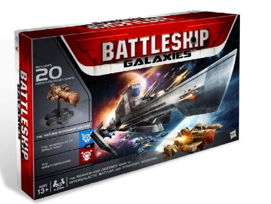 Battleship Galaxies: The Saturn Offensive Board Game by Wizards of the Coast / Hasbro