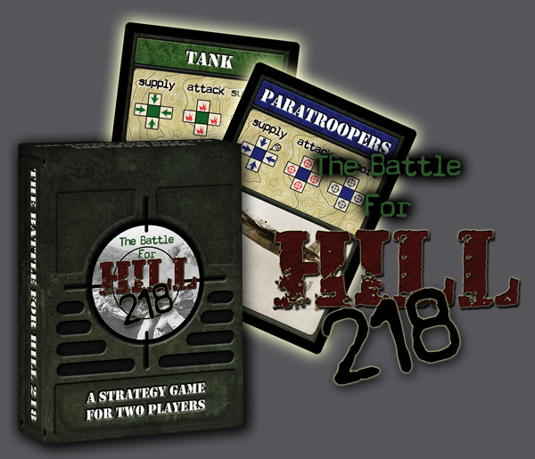 The Battle For Hill 218 by Your Move Games