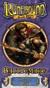 Runebound Class Deck: Battlemage by Fantasy Flight Games
