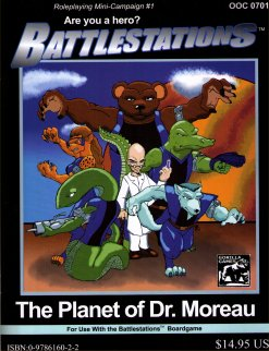 Battlestations: The Planet Of Dr. Moreau by Gorilla Games
