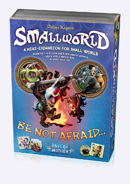 Small World: Be Not Afraid... Expansion by Days of Wonder, Inc.