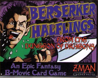Berserker Halflings From The Dungeon of Dragons by Z-Man Games, Inc.