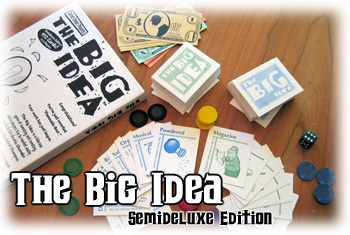 The Big Idea Boxed Edition (semi-deluxe edition) by Cheapass Games