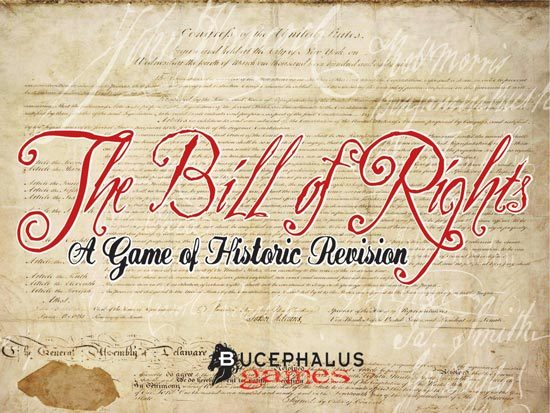 Top Ten: The Bill of Rights by Bucephalus Games