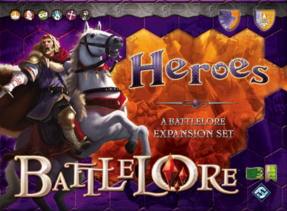 Battlelore: Heroes Expansion by Fantasy Flight Games