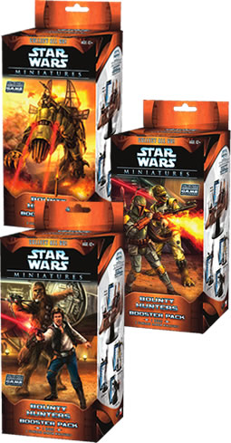 Star Wars CMG: Bounty Hunters Booster Pack by TSR Inc.