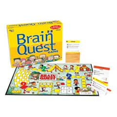 Brain Quest Game (grades 1-6) by University Games